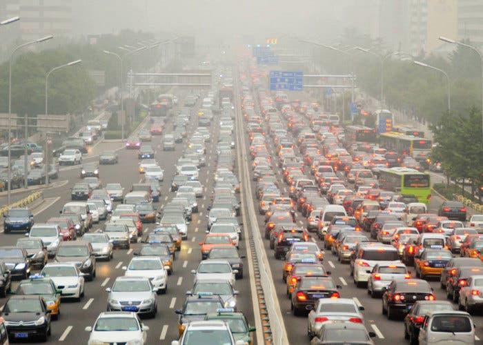 Contaminación por autos de diesel
