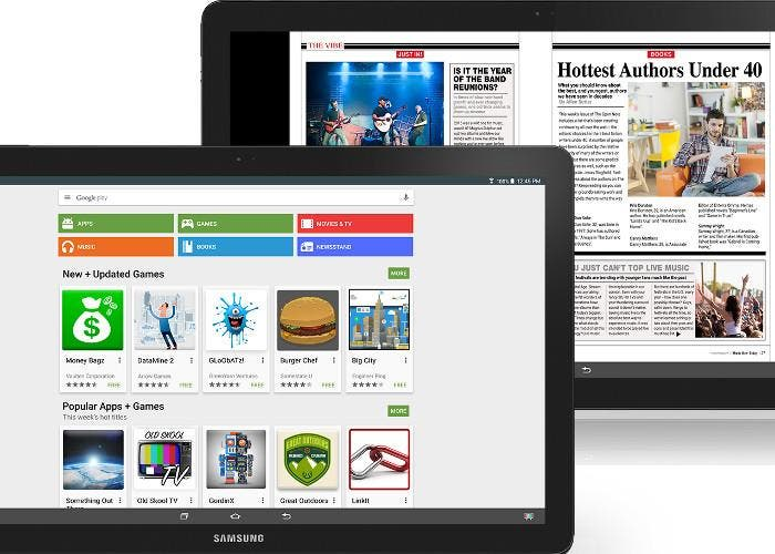 La tablet gigante Samsung Galaxy View