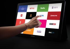 Samsung Galaxy View como televisión