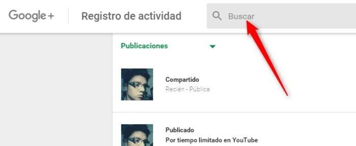 Buscar Google+