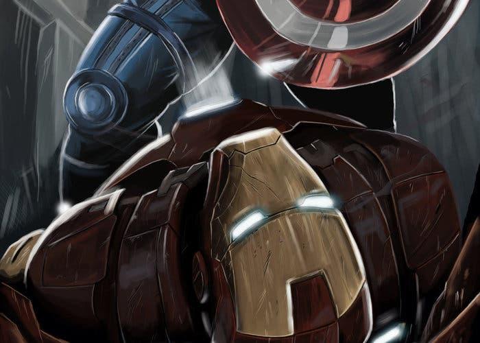 Capitán América y Iron Man