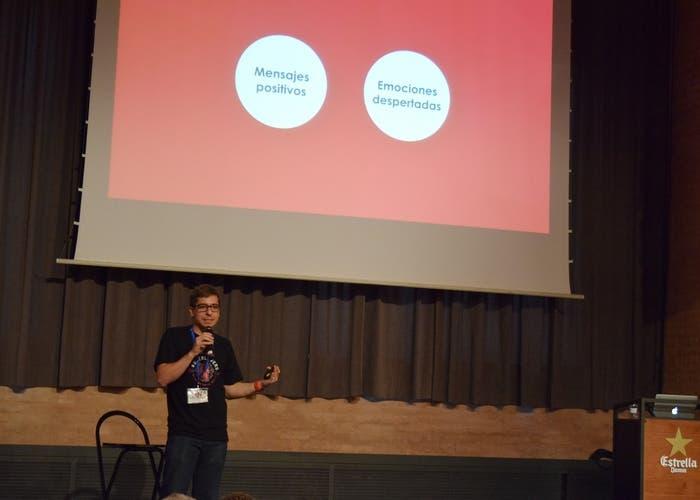 Daniel Marote en el Tech Experience Conference