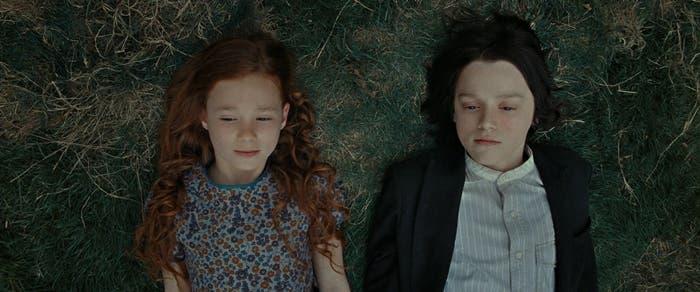 Lily y Snape
