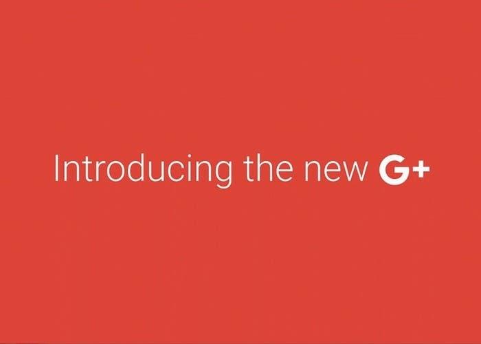 Nueva interfaz Google+