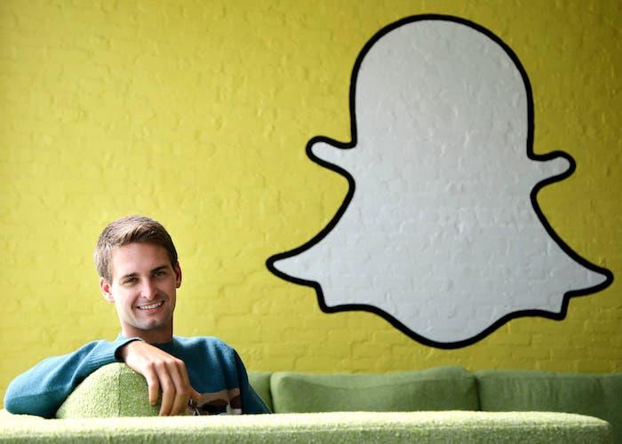Snapchat CEO empresa
