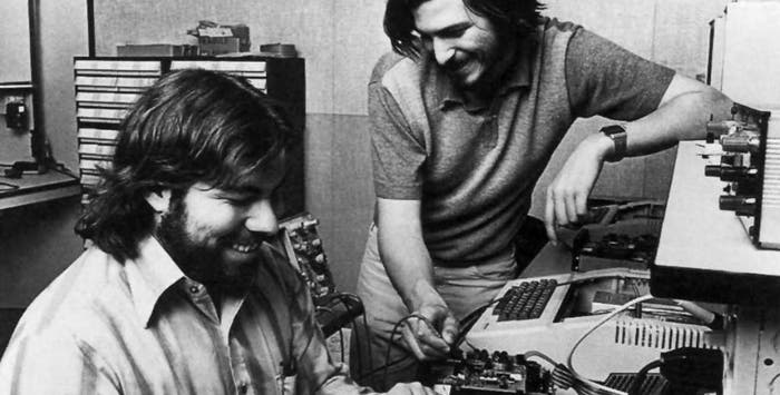 Steve Jobs y Wozniak