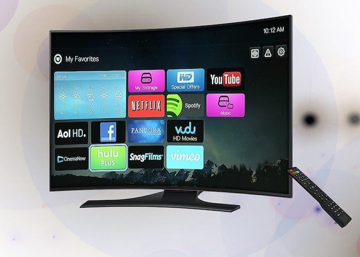 Television con aplicaciones