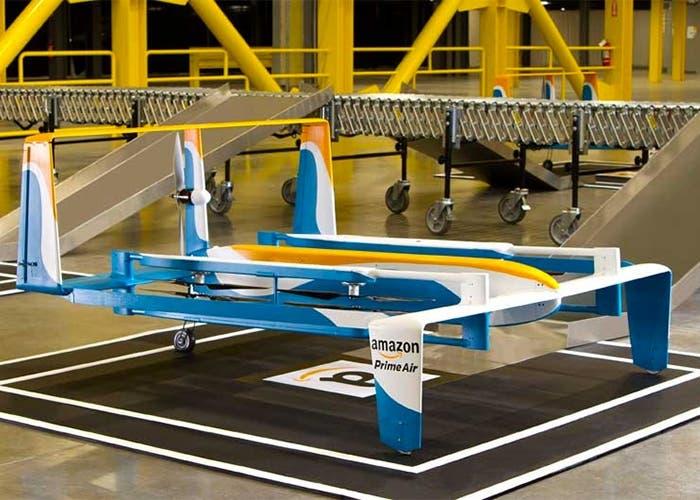 Así luce el nuevo Amazon Prime Air