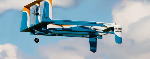 Amazon Prime Air en vuelo