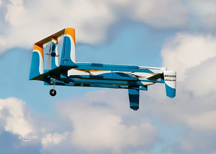 Amazon Prime Air en vuelo