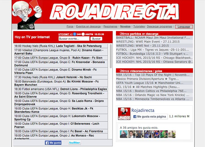 La justicia obliga a Rojadirecta a dejar de emitir fútbol en streaming 48aa6b27b25ae