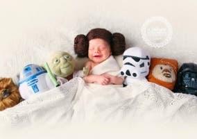 Bebe Princesa Leia