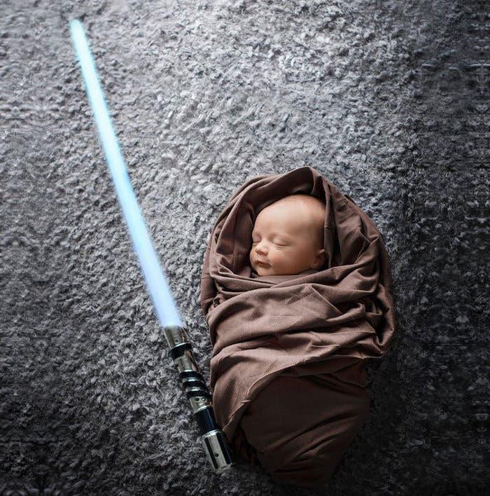 Bebe Star Wars Jedi