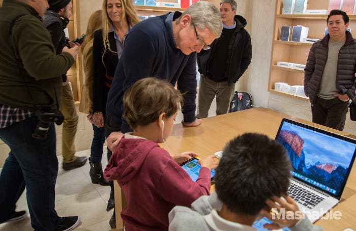 CEO de Apple, Tim Cook