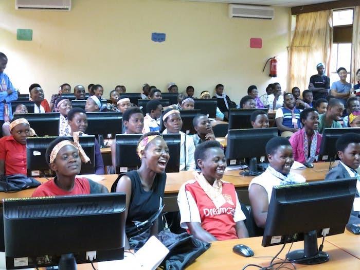 Centro computación Ruanda