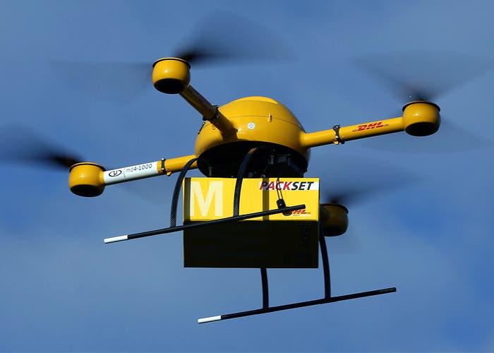 Dron comercial aceptado UE