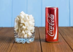 Coca-Cola y azucar relacion