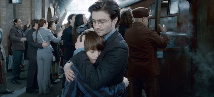 Harry y Albus Potter