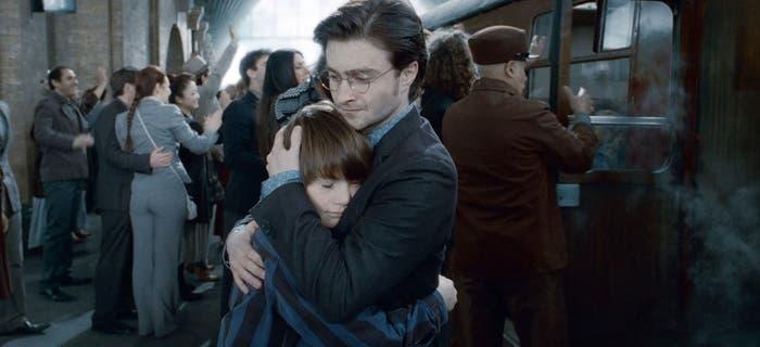 Harry y Albus Potter