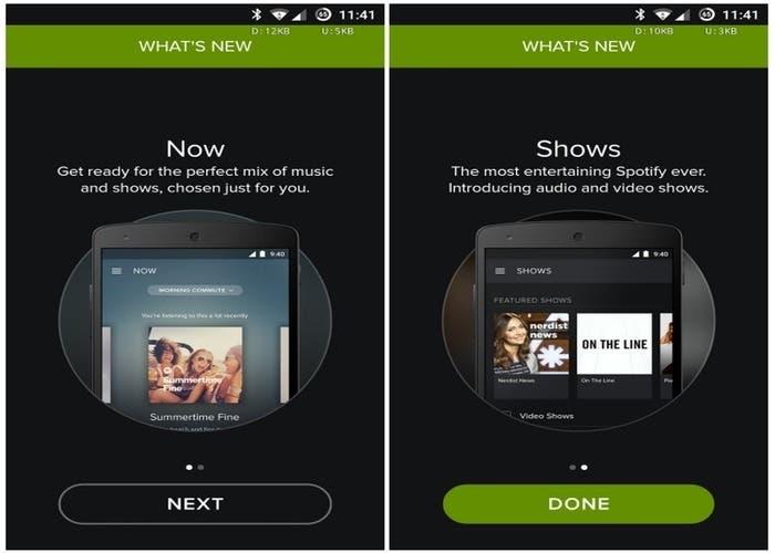 Spotify - Shows