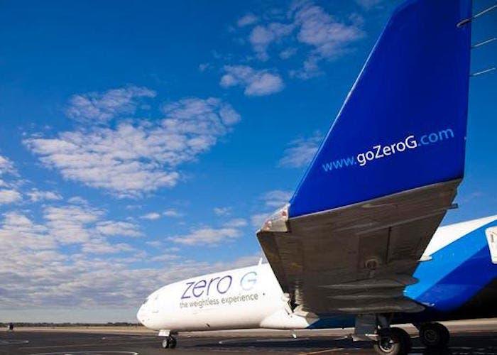 Zero G avión gravedad 0