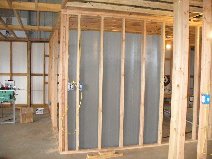 construcción habitación segura