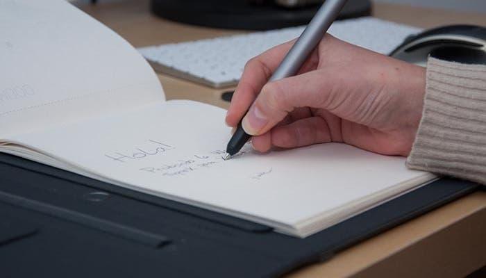 Escribiendo unas notas
