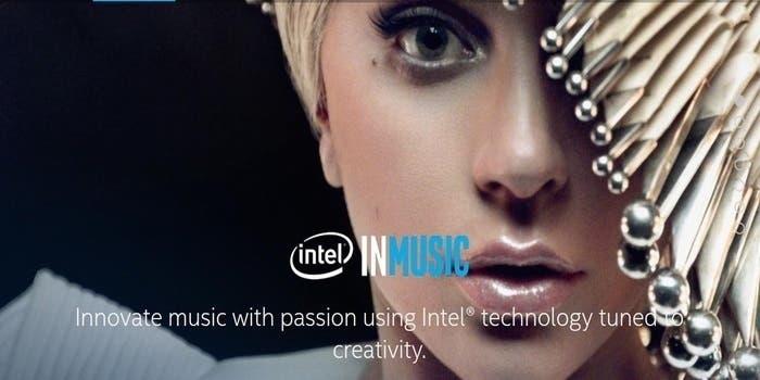 Intel Lady Gaga