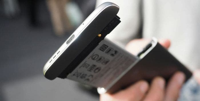 LG G5 presentado modular bateria extraible