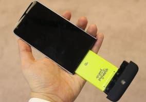 LG G5 presentado teléfono modular