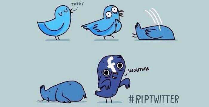 Logo de RIP Twitter