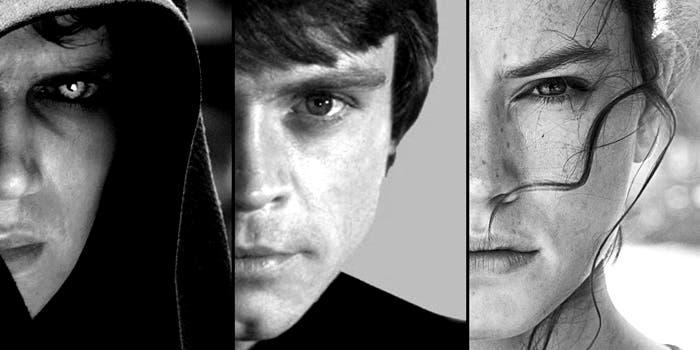 Rey Luke Anakin