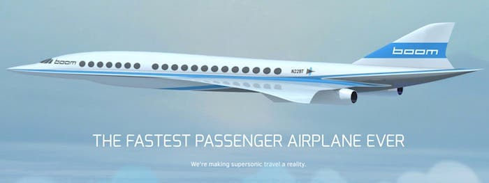 Boom avión pasajeros
