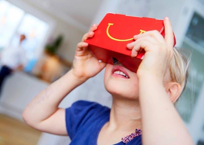 Cardboard de McDonald's