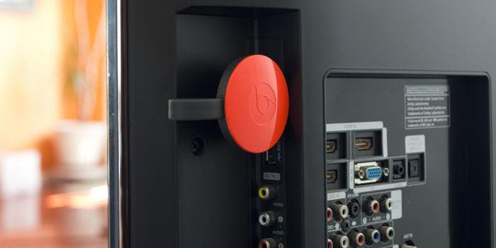 Chromecast en televisión