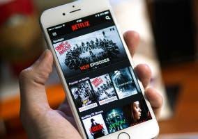Netflix-en-un-iPhone