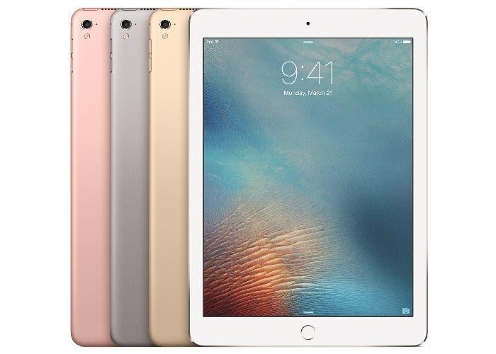 iPad Pro presentación frontal y trasera