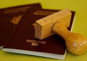 pasaporte control frontera