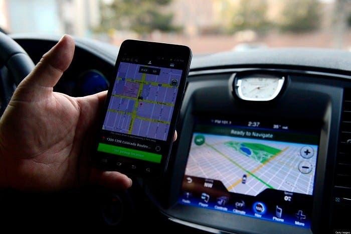 Servicio Uber con internet