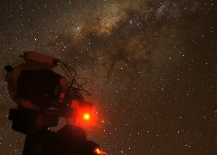 Vía Láctea desde Telescopio Atacama
