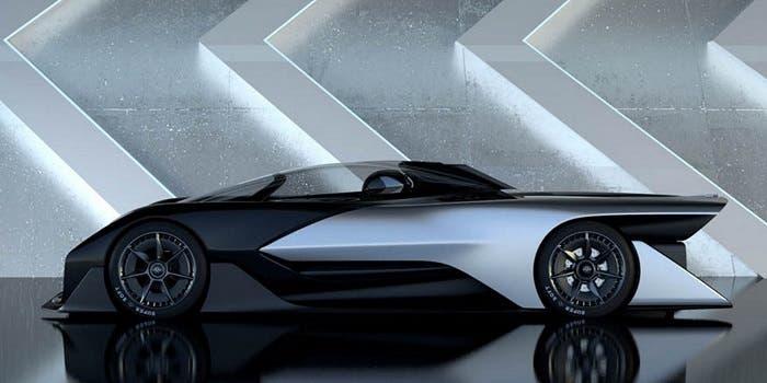 Faraday Future lateral