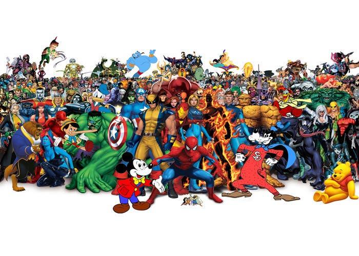 Disney-Personajes