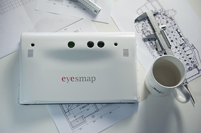 EyesMap3D realidad 3D tablet