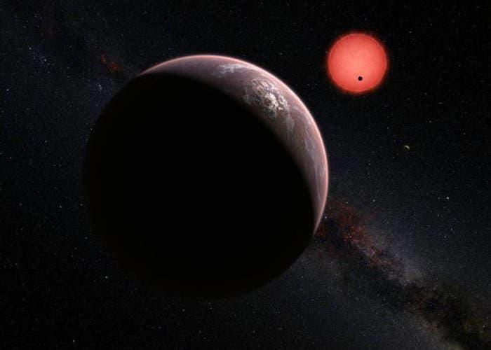 TRAPPIST-1 exoplanetas habitables