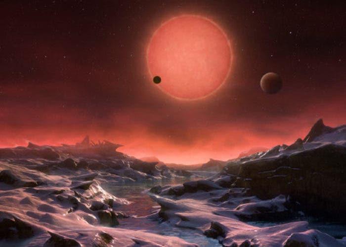 TRAPPIST-1 habitabilidad exoplanetas