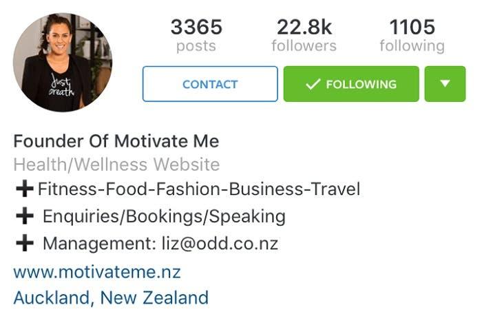Perfiles corporativos Instagram