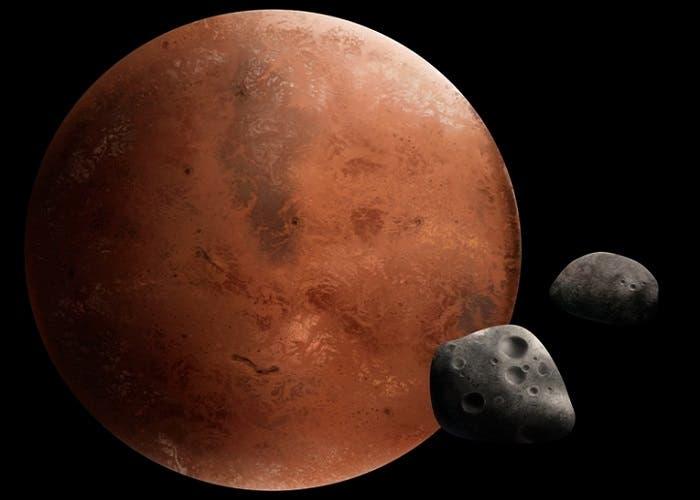 Lunas Marte