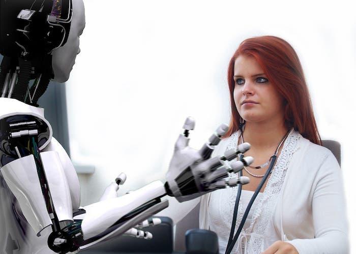 robot consulta médico