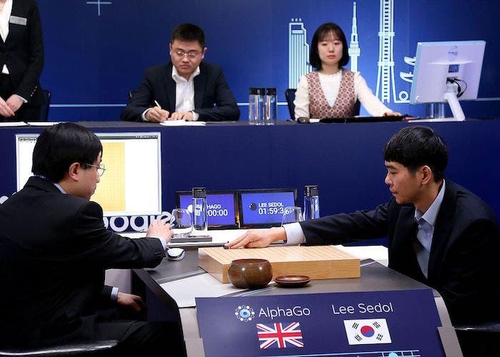 AlphaGo duelo google Go