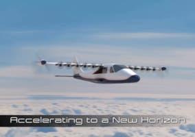 Maxwell avion electrico NASA